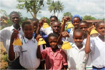 World Vision provides solar lamps for school children in Kono thumbnail