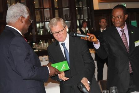 President koroma ends visit to belgium and the netherlands sierra express media - Heineken amsterdam head office ...