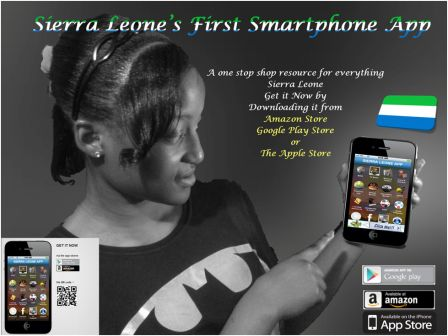 Sierra Leone's first Comprehensive Smartphone app launched thumbnail