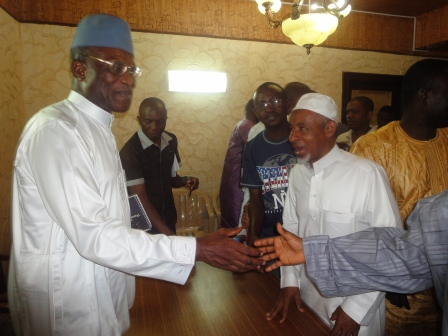 President Koroma's new Envoy meets with Sierra Leoneans in Saudi Arabia thumbnail