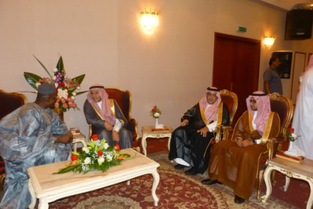Amb. Kargbo receives envoys of the  Riyadh Governor