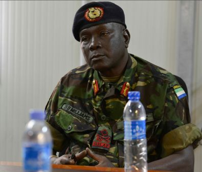 Sierra Leonean Chief of Defense visits Somalia thumbnail