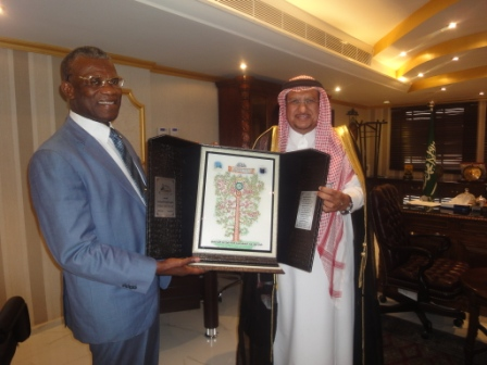 President Koroma Gets Prophetic Tree in Mecca thumbnail