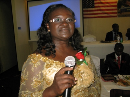 Keynote speaker, Rev. Mrs. Florence Bangura