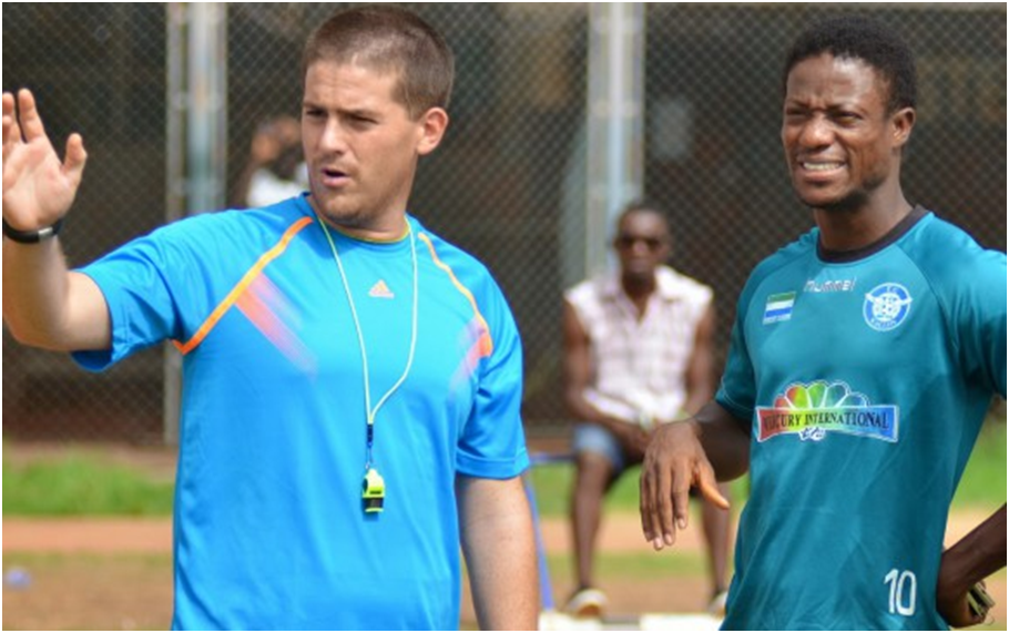 Leone Stars Northern Ireland coach McKinstry sacked thumbnail