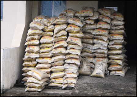 Western Area DHMT receives Africell's 3, 750 kg rice donation thumbnail