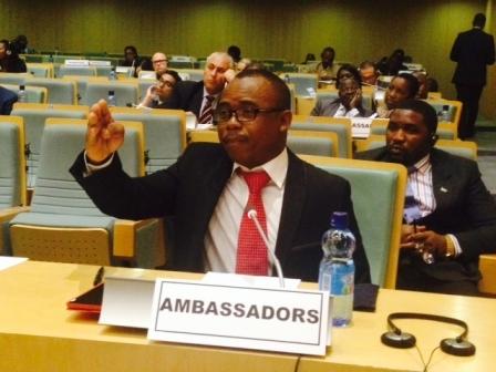 Ambassador Kamara proposes for Global Conference on Ebola thumbnail