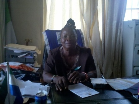 Deputy Mayor Madam Mary Hannah Jaiah  sidelined thumbnail