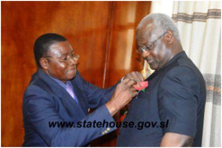 President Koroma Launches 2014 Poppy Week thumbnail