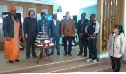 Confucius Peace Prize conducts prayer session for Ebola affected regions in West Africa thumbnail