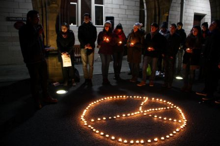Vigil held in Aberdeen for victims of recent violent attacks thumbnail