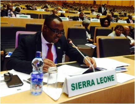 Children in armed conflict in Africa : Sierra Leone's Ambassador Osman Keh Kamara makes strong recommendations at AU thumbnail