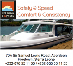 Sea Coach Express offers Free Eye treatment to Sierra Leoneans. thumbnail