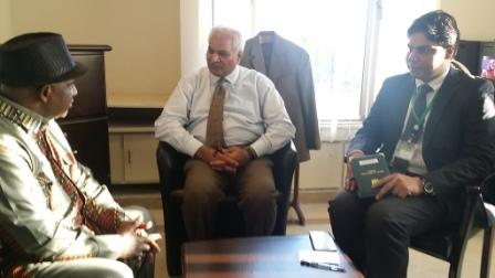 ?Amb. Fofana meets Pakistani Foreign Ministry Officials