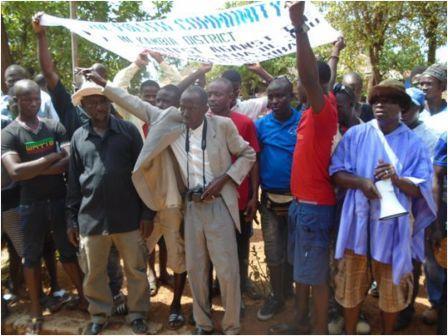 Fullah community in Kambia protest thumbnail