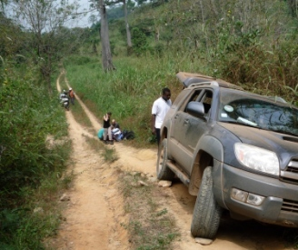 Bad Road Network Deteriorates Moyeaba Community thumbnail
