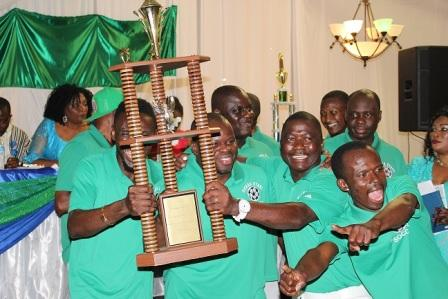 Sierra Stars victory trophy