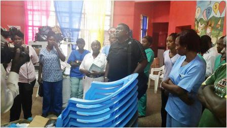 Multiply Project Salone Feeds Children's Ward at Connaught Hospital thumbnail