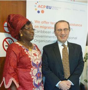 Nanette Thomas Excels at ACP-EU Dialogue In Brussels thumbnail