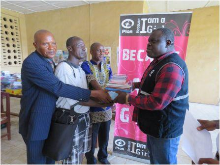 Plan International donates Library Books to 190 schools in 6 Districts in Sierra Leone thumbnail