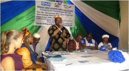 Plan International Sierra Leone opens new office in Koinadugu thumbnail