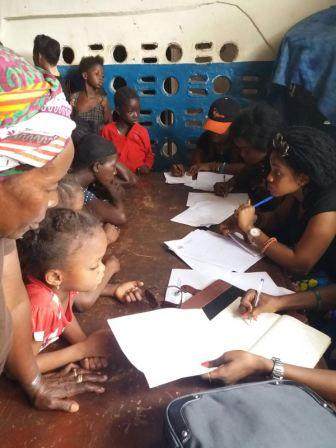 Panther Women vow to improve lives of poor in Kroobay slum thumbnail