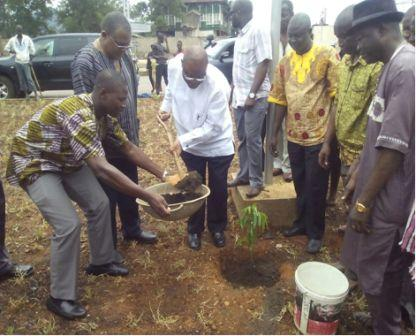 Agric Minister takes the lead in city beautification thumbnail
