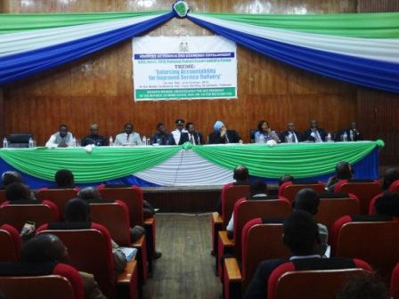 Sierra Leone holds National Accountability Forum thumbnail