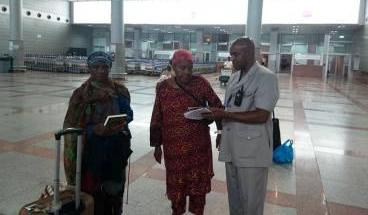 Pilgrims Share Hajj Experience before Departure thumbnail