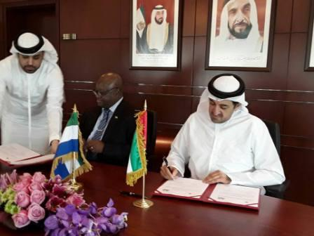 Sierra Leone, UAE Sign Economic and Technical Cooperation Agreement thumbnail